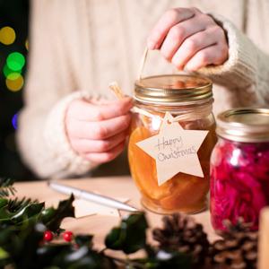Einmachen, Weihnachtsgeschenk